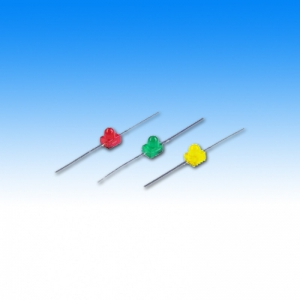 Leuchtdiode 1,8 mm, Axial in gelb