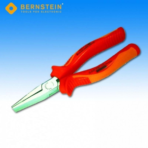 Bernstein 3-545 VDE Flachzange, 185 mm, lange Backen