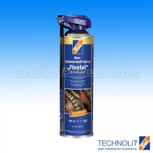 Technolit Duo-Schmierstoff-Spray Flestol, 500 ml